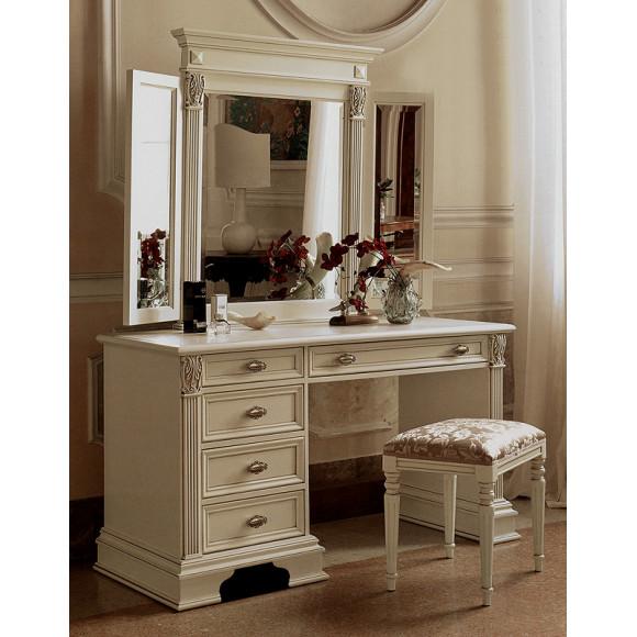 Зеркало с прямым карнизом SAONCELLA