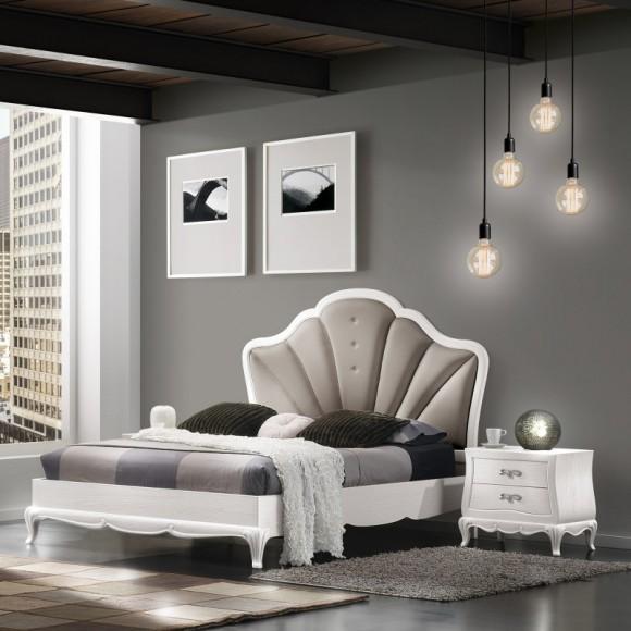 Кровать SOLO со стразами Сваровски