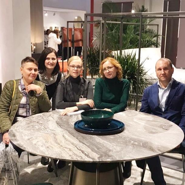 Мебельная выставка в Москве ISaloni WorldWide Moscow 2019.